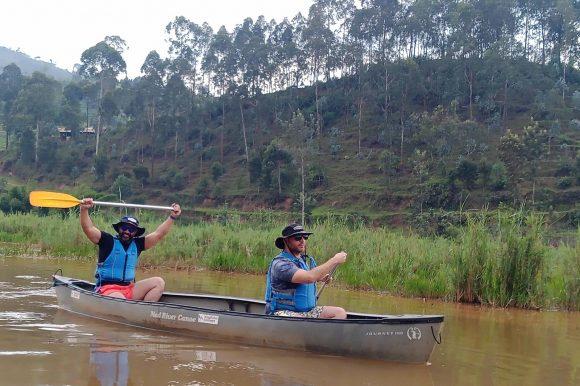 Canoeing experience in Rwanda